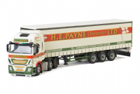 WSI H.E. Payne Iveco Stralis Highway 6x2 Curtainside Trailer